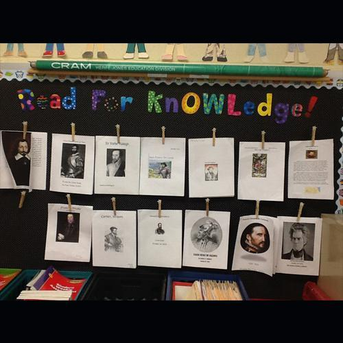 Read for Knowledge Anchor Chart