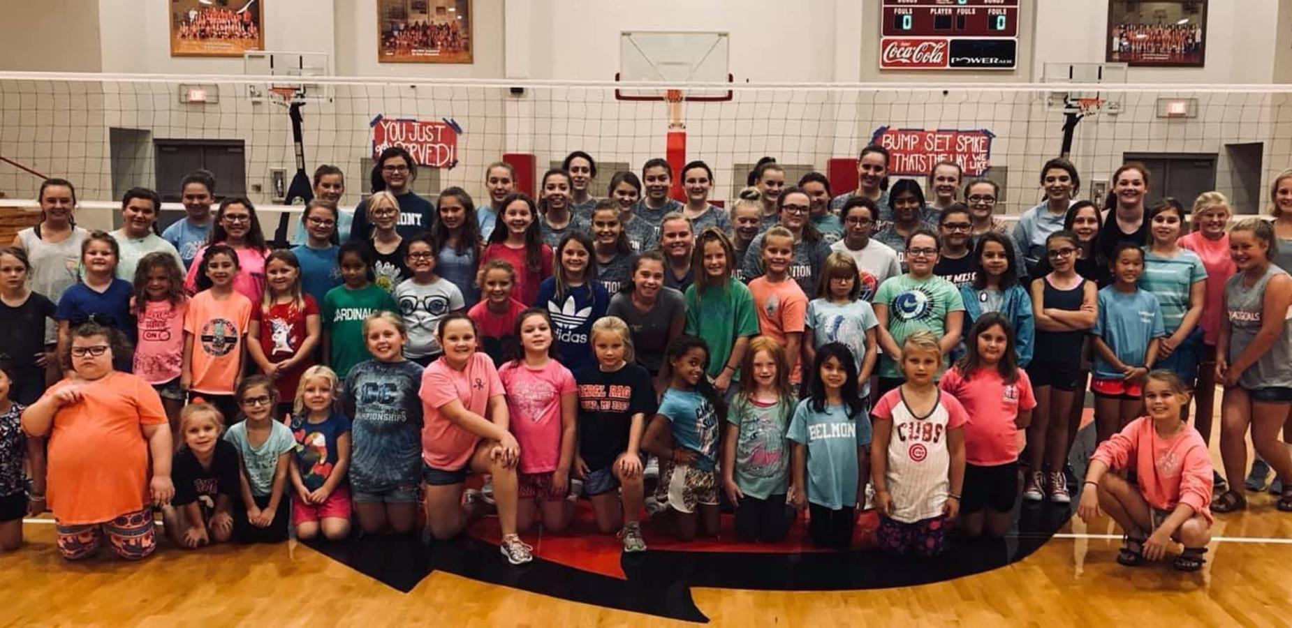2018 Volleyball Mini Skills Camp