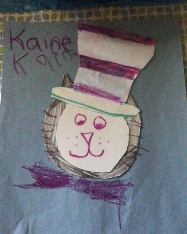 Cat in the Hat art