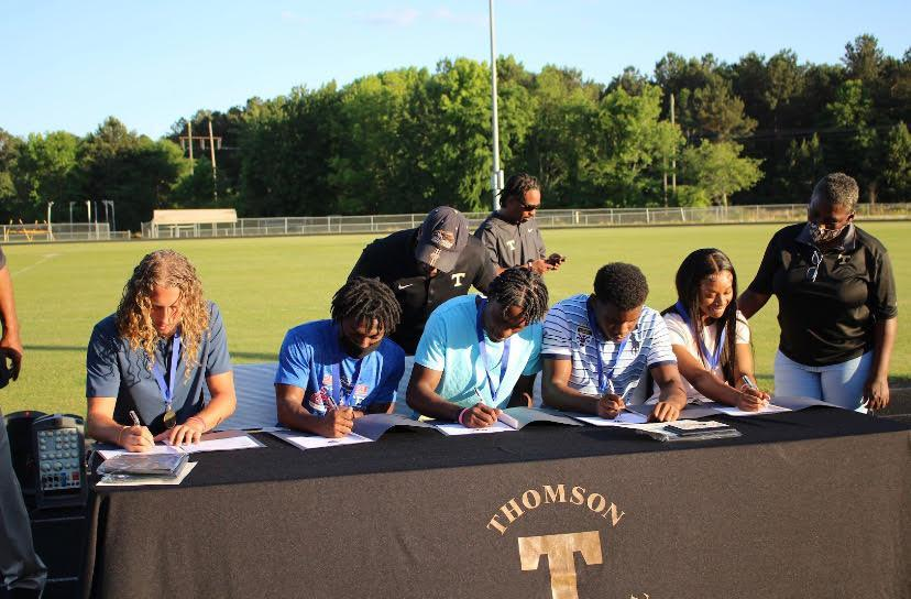 Track and Field Signing Day