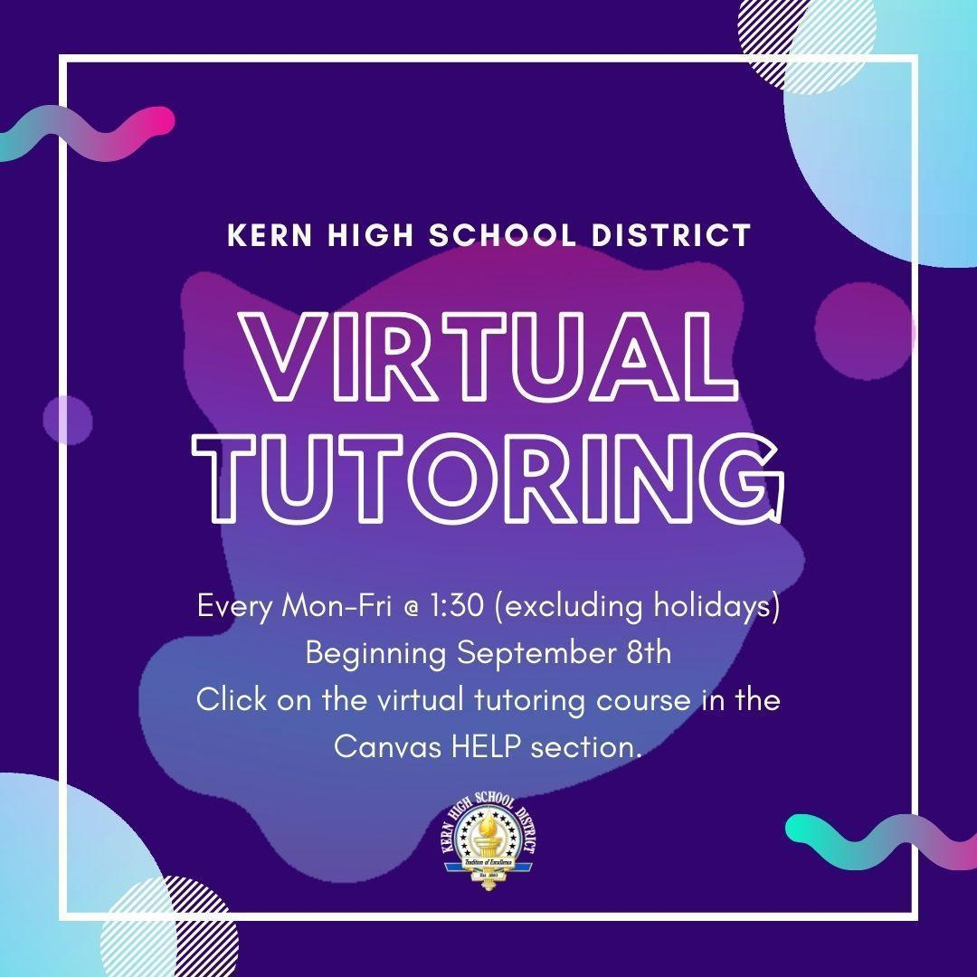 KHSD Virtual Tutoring