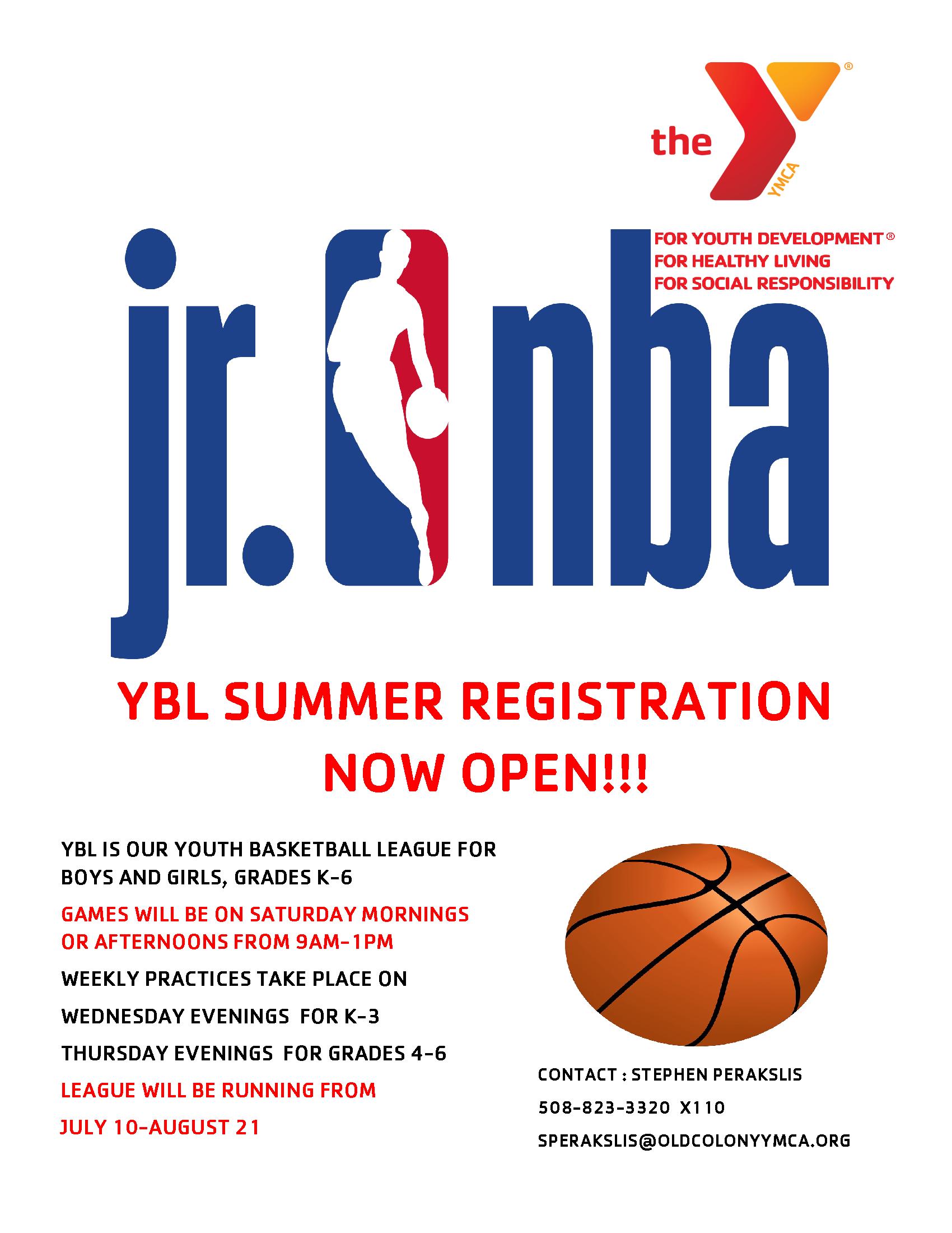 YBL Summer Flyer