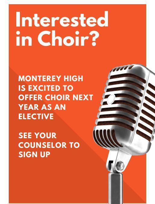 New elective - Choir