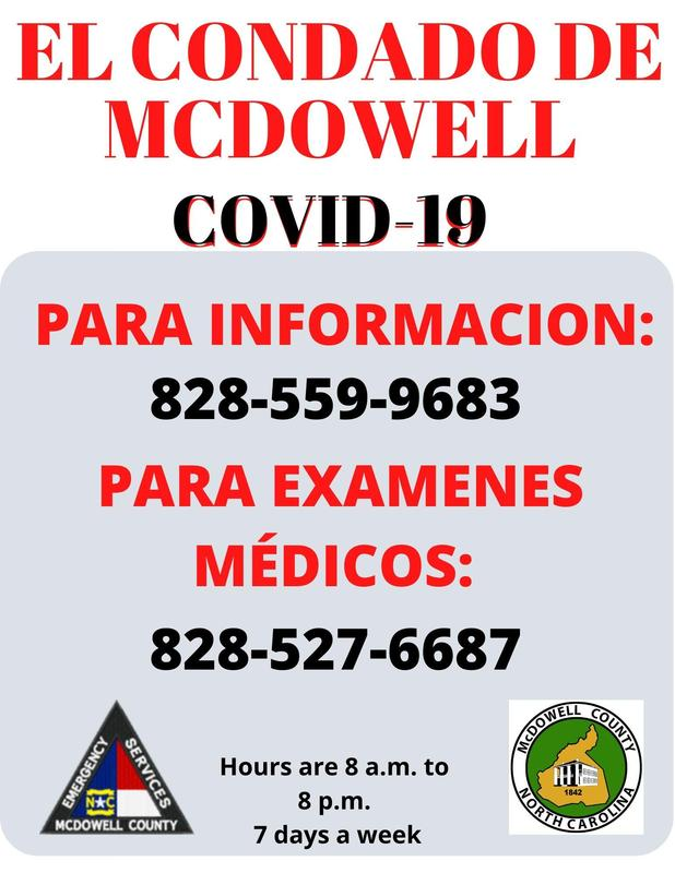 Covid Flyer Spanish