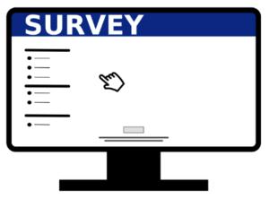 Clip art of survey
