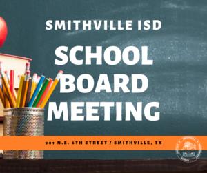 School Board Meeting Graphic