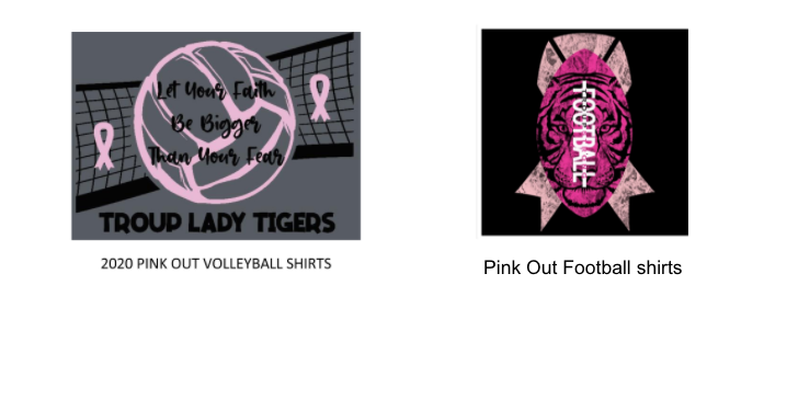 Pink Out Shirt Orders Featured Photo