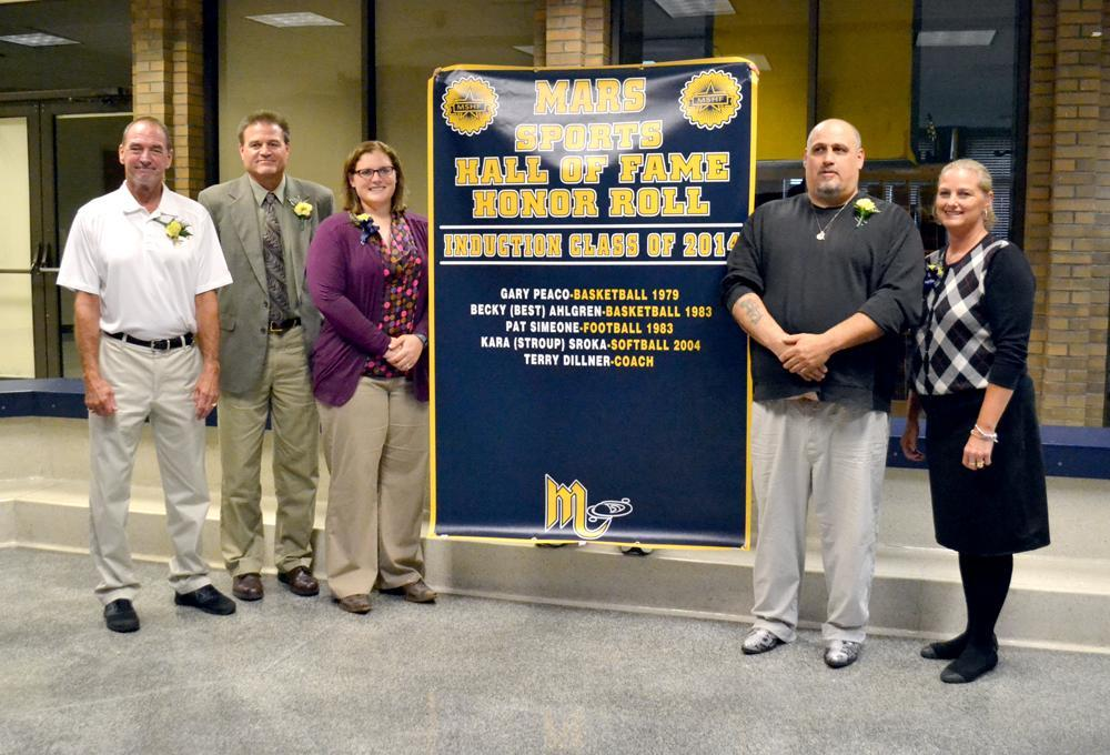 2014 Mars Area High School Sports Hall of Fame Inductees