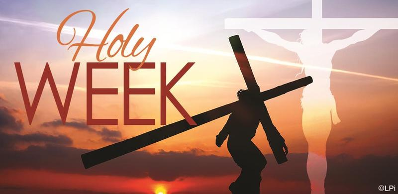 Holy Week Schedule Thumbnail Image