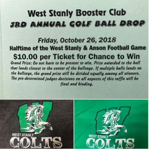 WSHS Athletic Booster Club Golf Ball Drop Featured Photo