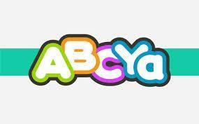 Cartoonish letter spelling ABCYa