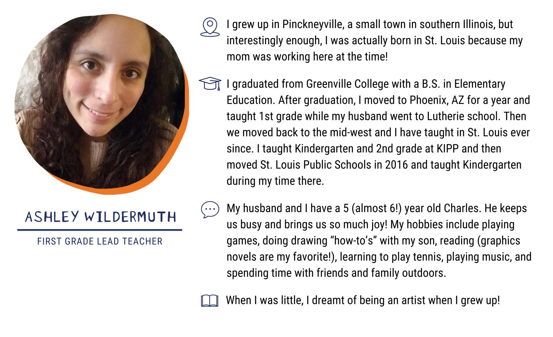Ashley Wildermuth, First Grade