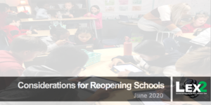 Report on reopening schools