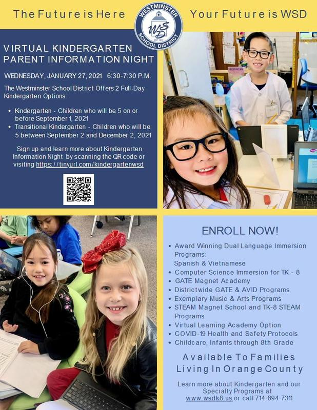 Virtual Kinder Info Night