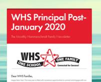 WHS Principal Post- January 2020 Thumbnail Image