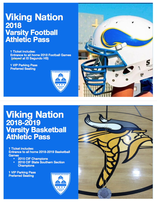 Viking Nation 2018-2019 Athletic Pass Featured Photo