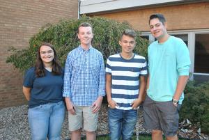 Pic of Butler Co Youth Leadership reps