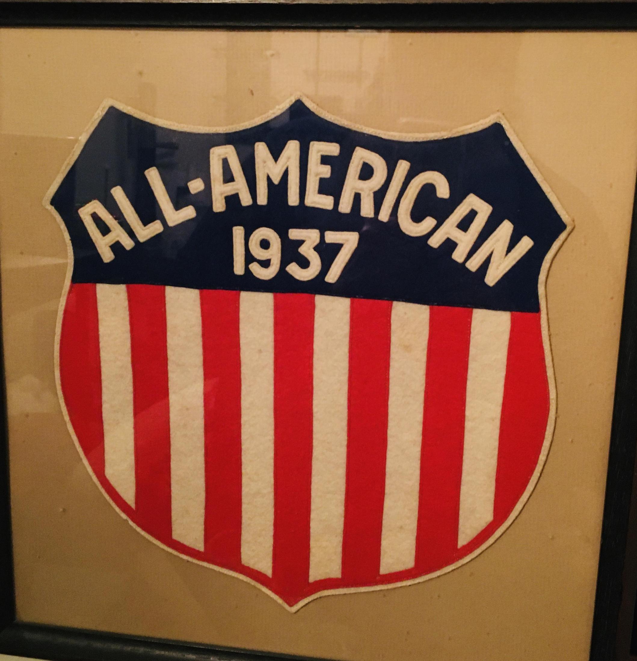 Gerald Dennerlein's All American Chevron