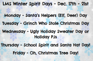 winter spirit days