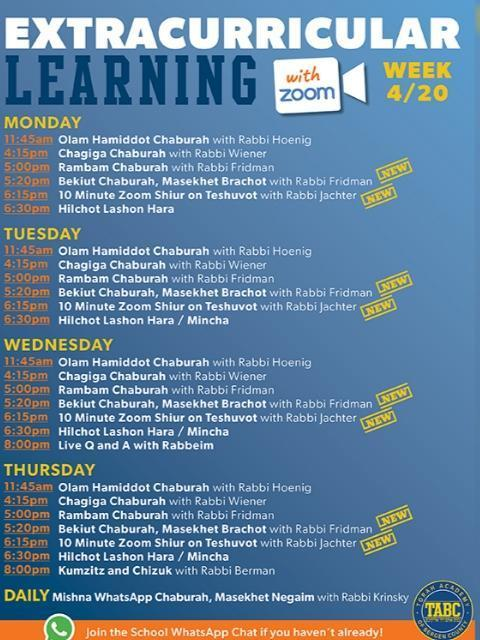 Virtual Learning at TABC Thumbnail Image