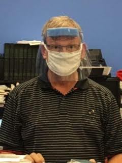 Blalock with mask