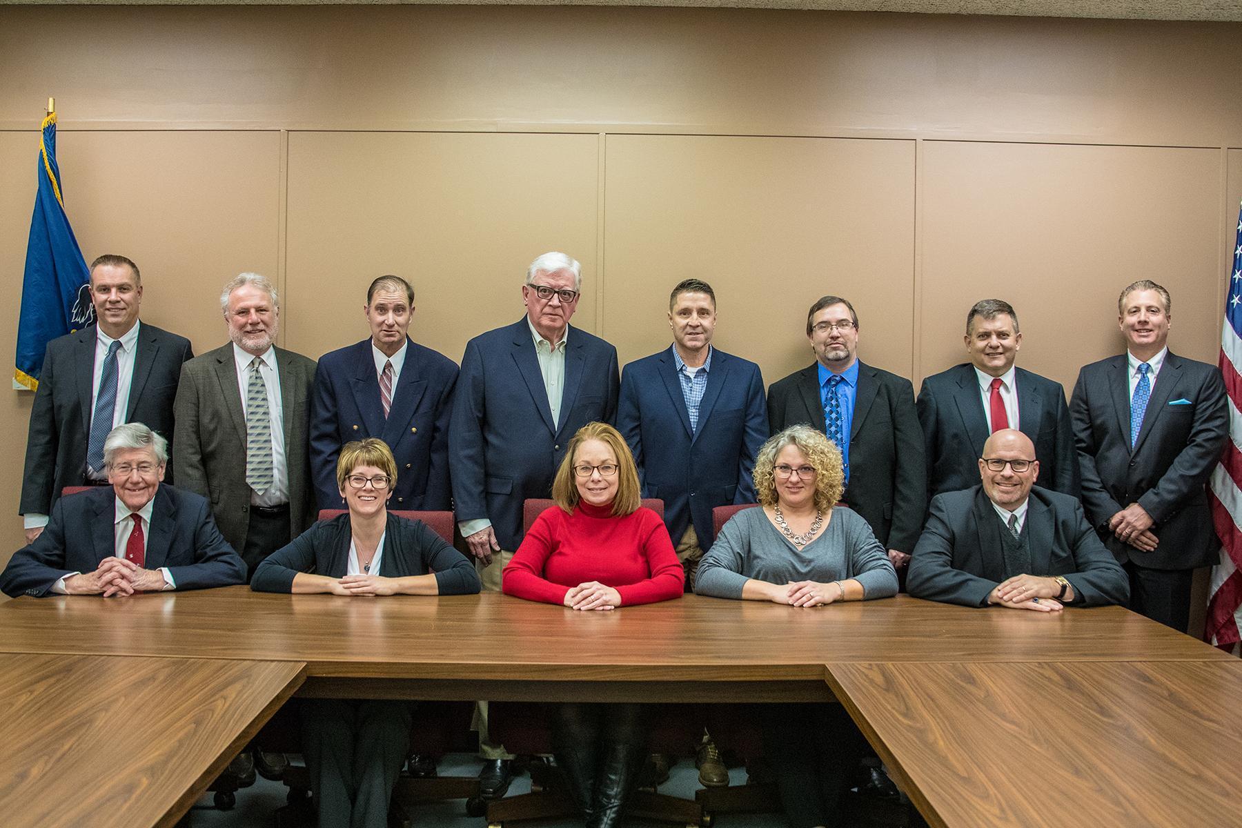 2019-2020 Greensburg Salem School Board