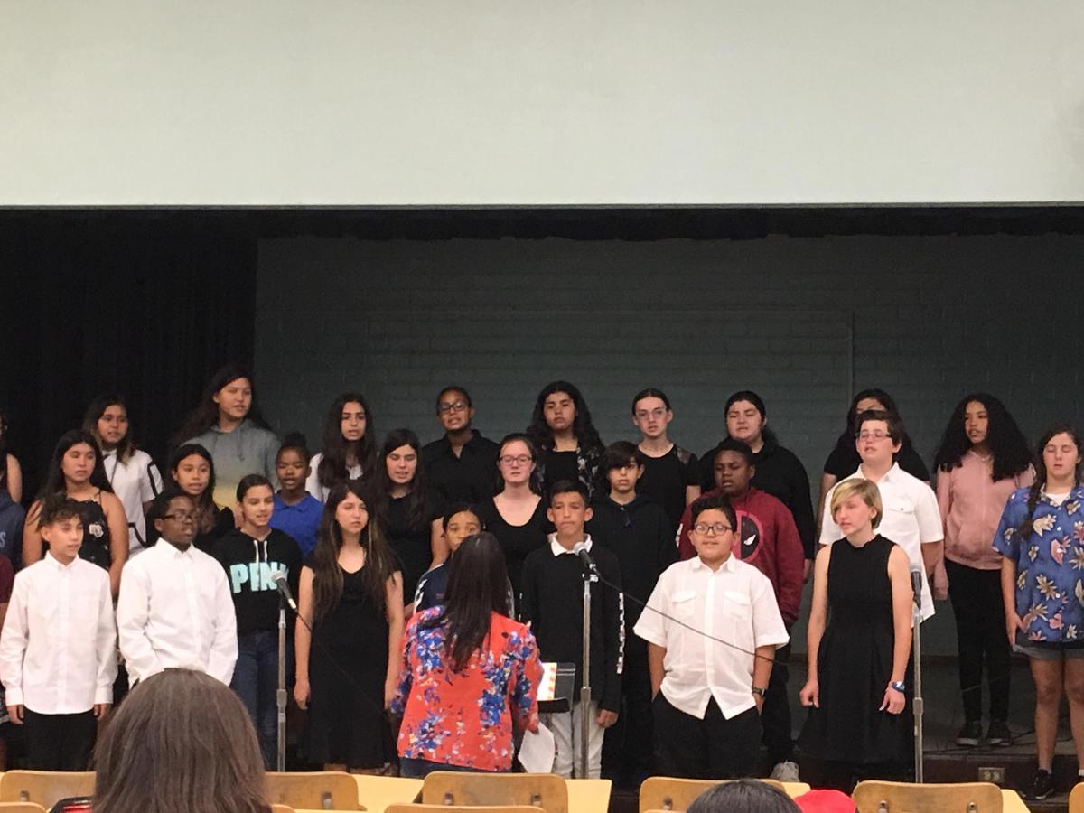 Advanced Choir – Ms  Jessica Adad – Patrick Henry Middle School
