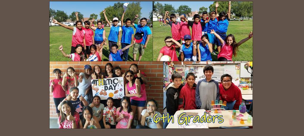6th Graders - Work hard, Play hard