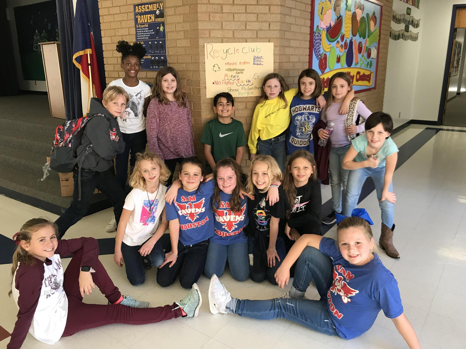 Houston Elementary School Student Council