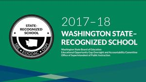 Betz Elementary Honored State Recognized School