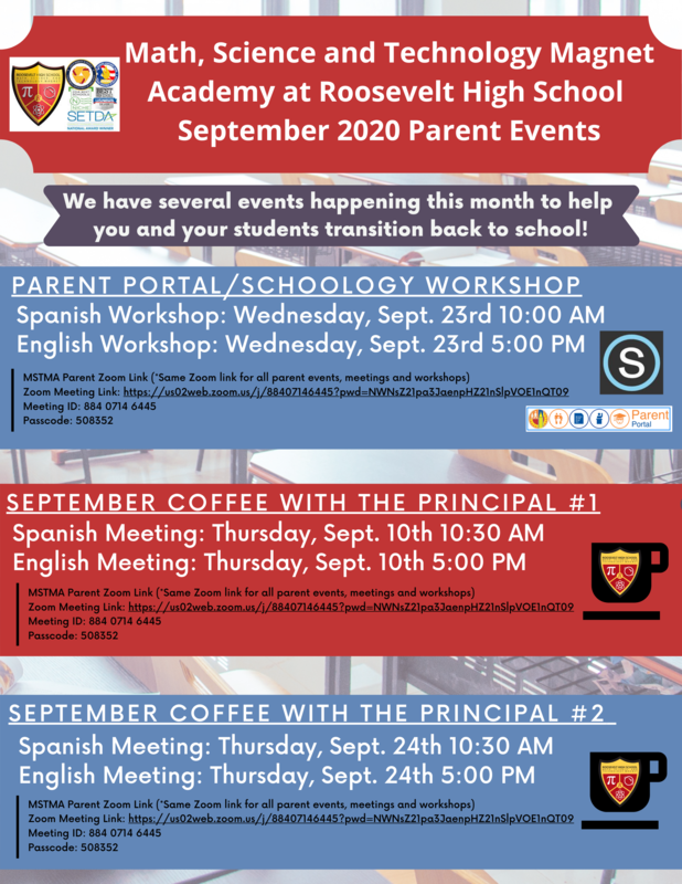 MSTMA Parent Events for September! Featured Photo