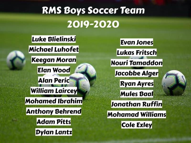 2019-2020 Boys Soccer Team Featured Photo