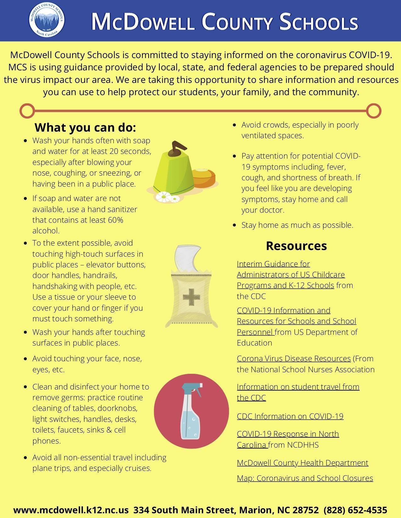 COVID 19 Infographic
