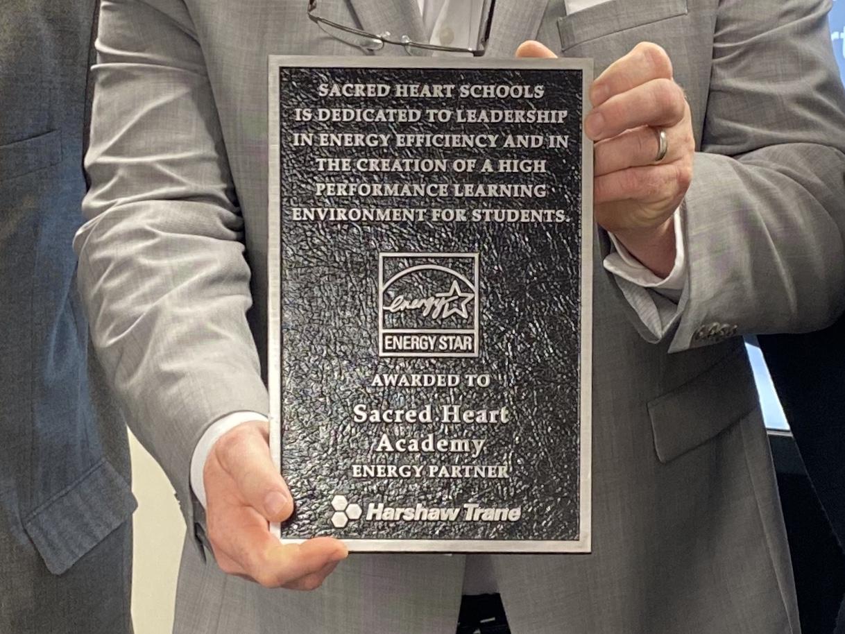ENERGY STAR* plaque