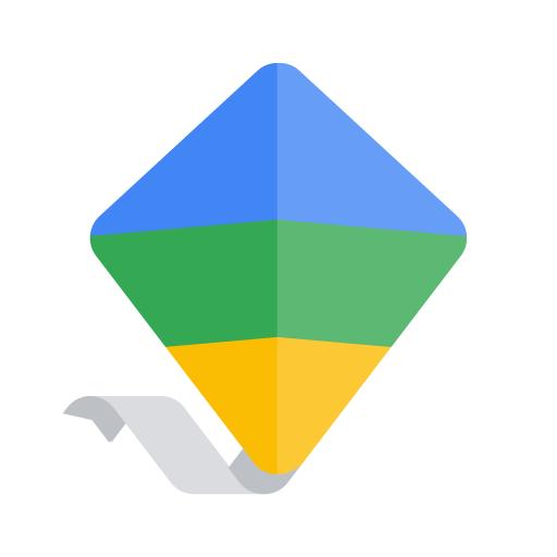 Google families icon of a kite