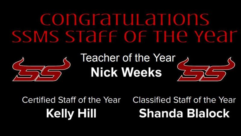 Congratulations SSMS Staff of the Year Featured Photo