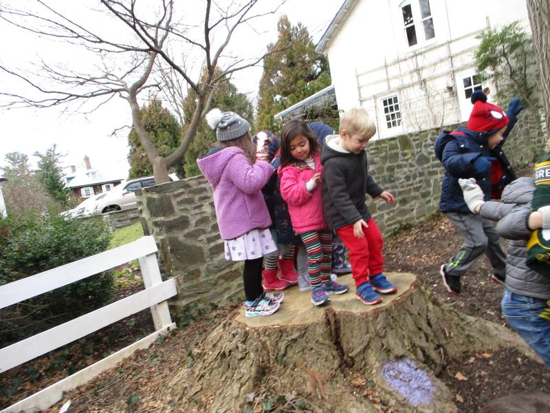 Tr. Julie's preschool class trip to Haverford College Featured Photo