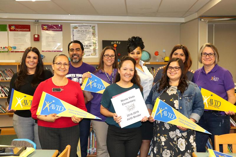 Monte Vista Elementary Receives AVID Certification Status for Second Year Featured Photo