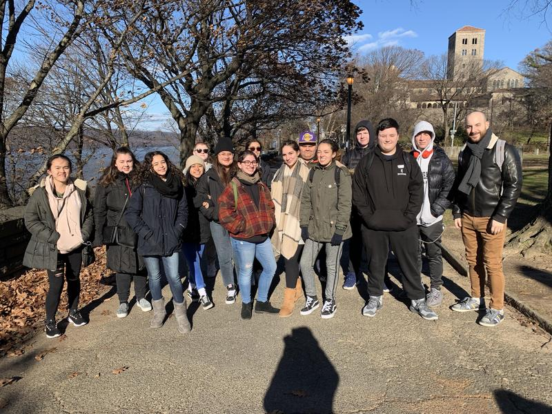 Maspeth High School Students Visit The Cloisters Museum Featured Photo