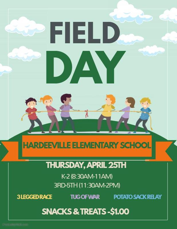 Field Day at Hardeeville Elementary School! Featured Photo