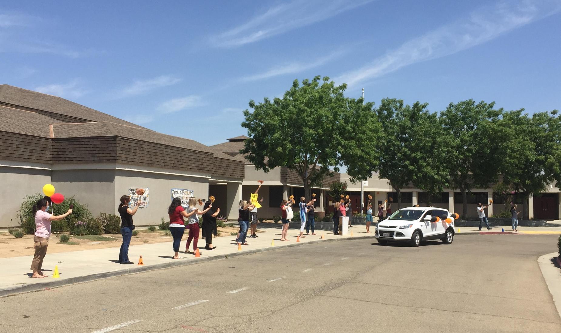 Polk Teacher-Student Parade
