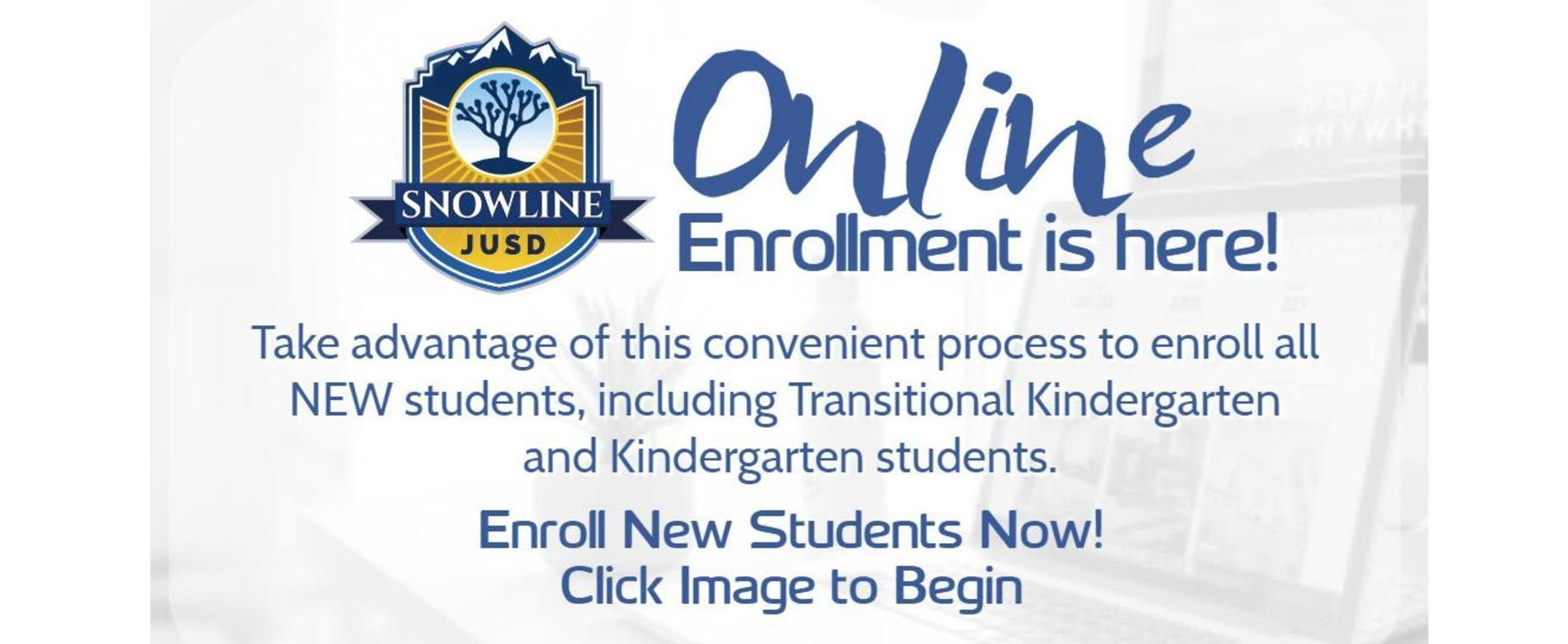 Online Registration Graphic - Click to enroll online