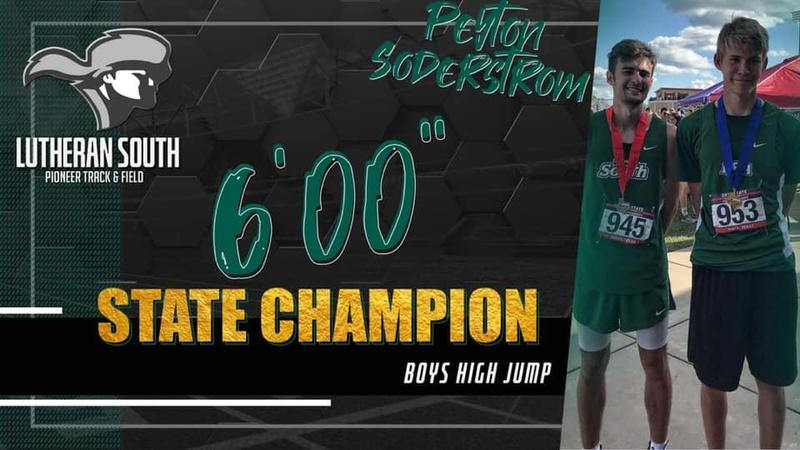 Peyton Soderstrom Wins State in Boys 5A High Jump. Thumbnail Image