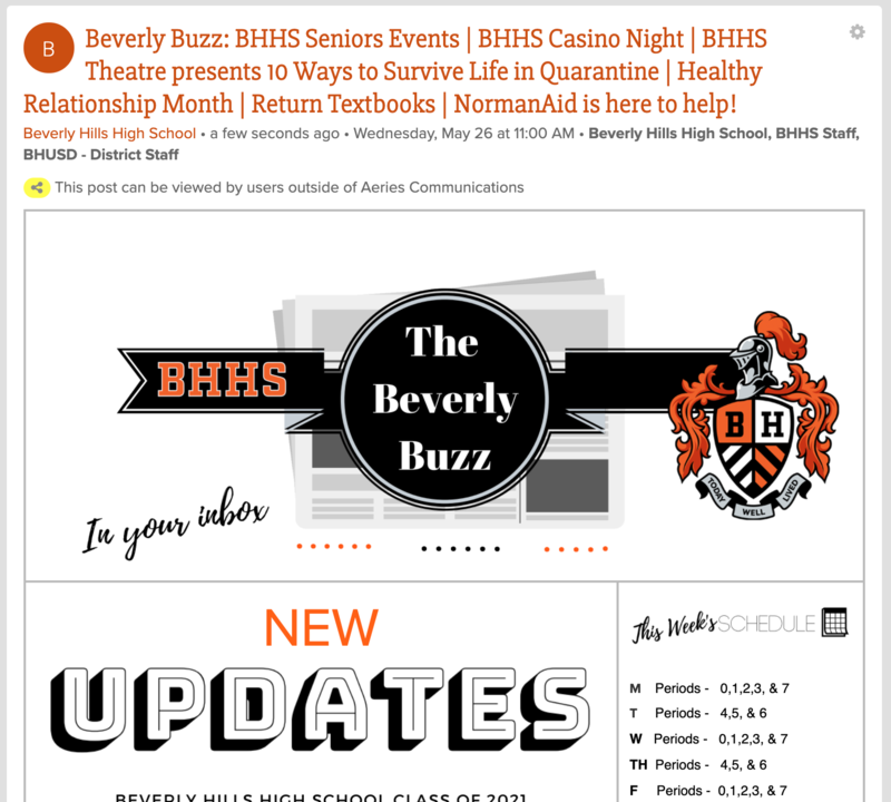 BHHS Newsletter - The Beverly Buzz - May 26, 2021