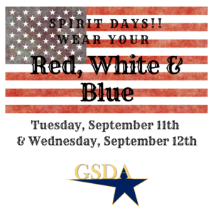 Wear your Red White and Blue
