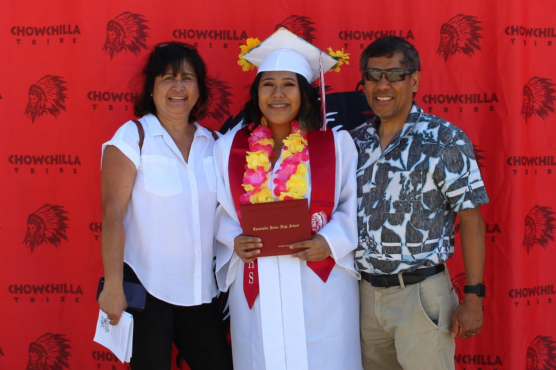 Bianca Solidum and family