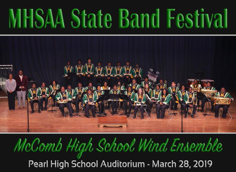 McComb High School Wind Ensemble Participation