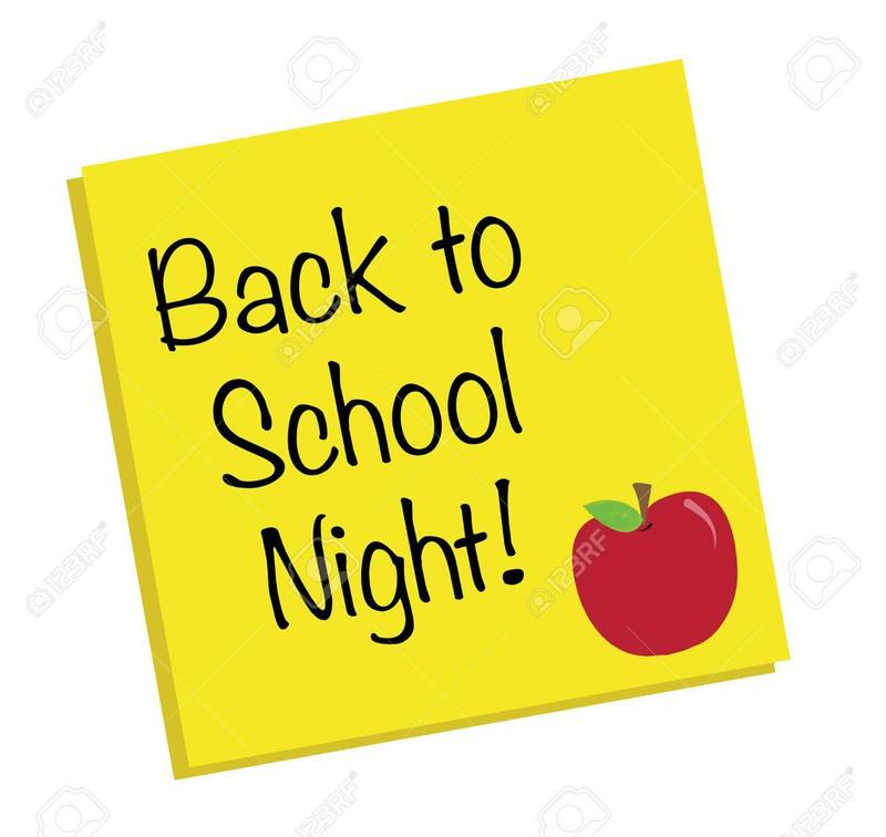 Back to School Night- Thursday, 8/29 6:00 PM to 8:30 PM Thumbnail Image