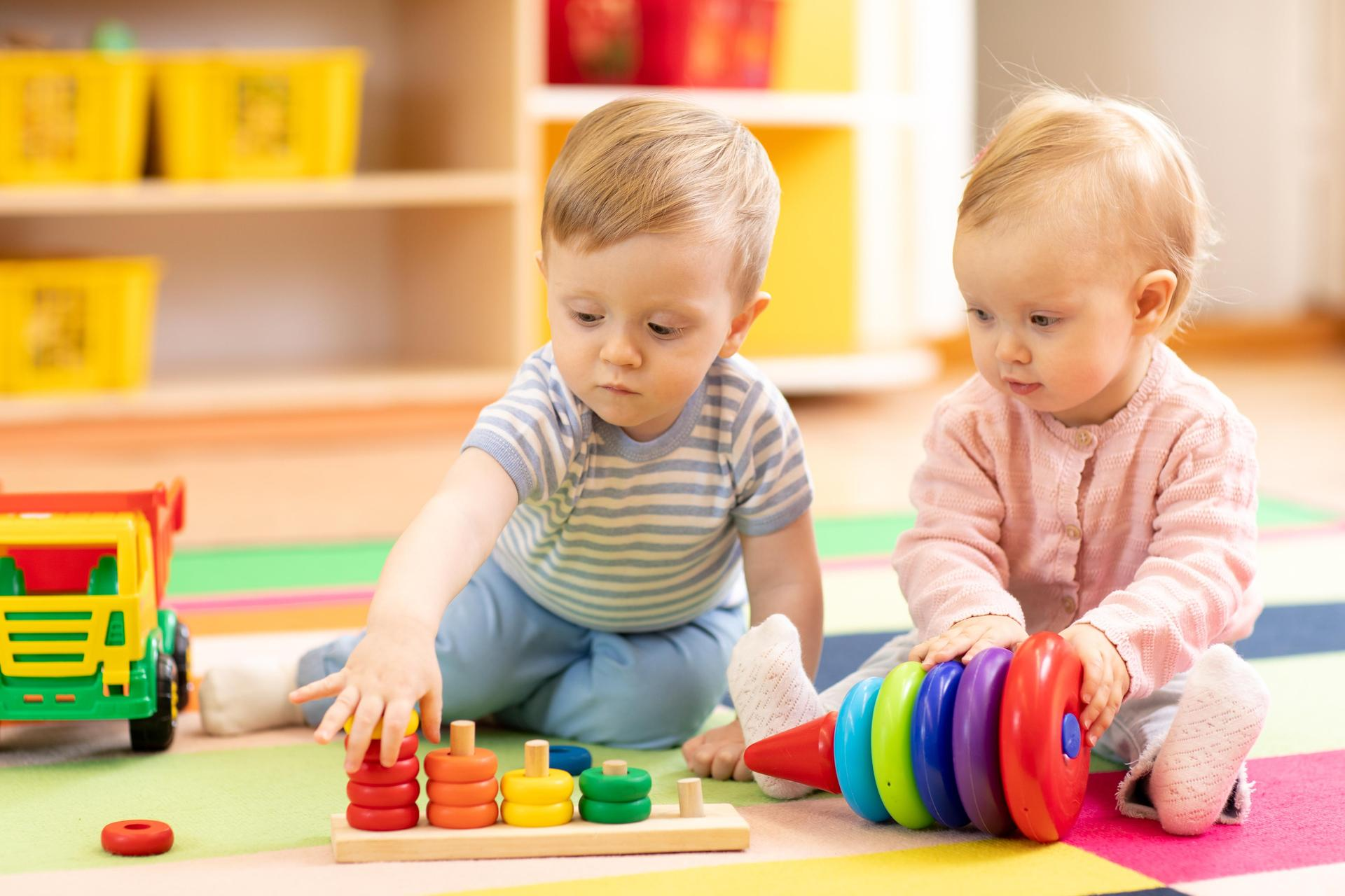 photo of daycare children