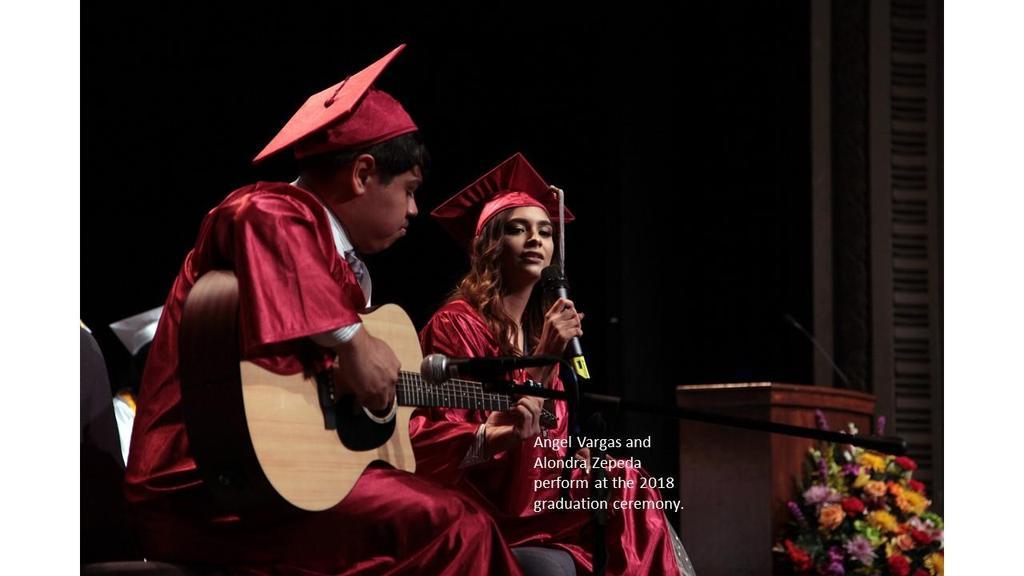 Singing Performance at Graduation